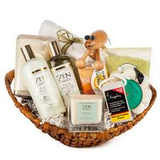 spa gift basket ideas garden spa gift basket