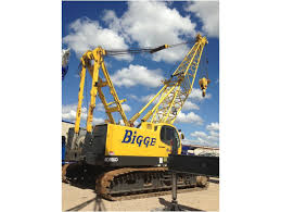 2005 kobelco ck1000 ii crawler crane for sale bigge crane and