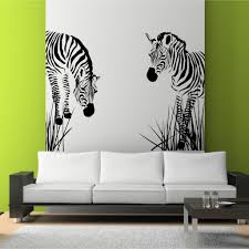 wall decals zebra vinyl wall art interior decor stickers by decals zebra vinyl wall decal wild zebra grass african wall art stickers decals murals stencil vinyl