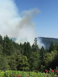 Auburn California Wildfire by Trailhead American River Canyon Foresthill Yubanet Fire News
