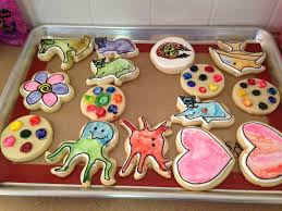 paint your own cookies she bakes and creates