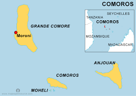 map comoros free comoros map map of comoros free map of comoros open