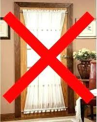 Curtains For Front Door Window Front Door Window Treatments Door Window Treatments Curtain