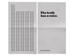 the new york times has new york times talks sexual harassment in golden globes ad media