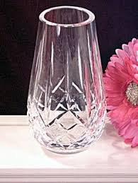 Cut Glass Bud Vase Vases Sale Waterford Lola Bud Vase 5 75