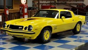 yellow chevy camaro for sale exle of bright yellow paint on a 1977 gm camaro z28 camaros