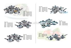 Swiss Induction Cooktop Swiss Hufeisen 16 Pc Stainless Steel Cookware Set Fry Pans