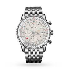 breitling steel bracelet images Breitling navitimer world mens watch breitling brands mappin jpg