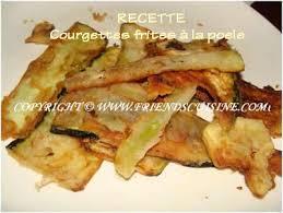 cuisiner les courgettes recette très facile courgettes frites