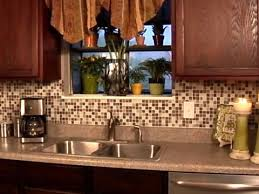 stick on backsplash for kitchen how to install a backsplash how tos diy