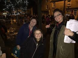 mansfield woodhouse christmas lights switch on bramble academy