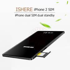 for iphone5 6 7 8 x ultra thin metal frame dual sim dual standby
