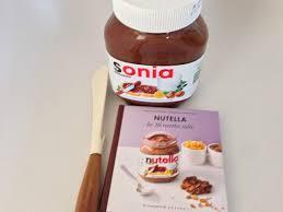 personnalise ton pot de nutella avec ton prénom click n cook