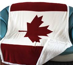 winter high quality canada flag double layer canadian maple leaf