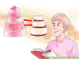 plan your wedding how to plan your wedding cake tasting 12 steps with pictures