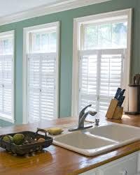 kitchen window shutters interior choosing the right window treatment inside half window shutters