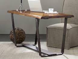 live edge computer desk hooker furniture live edge medium wood 60 l x 28 w rectangular