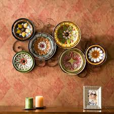 lovely metal wall decor for dining room