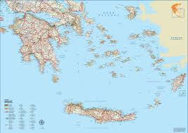 Map Of Canada With Cities by Greece Maps Maps Of Greece