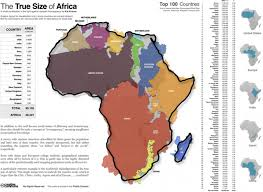 africa map 2014 8 maps that will change the way you look at africa one one