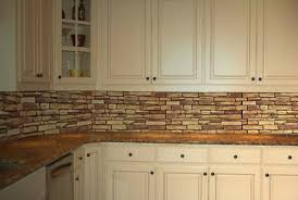 Sandstone Slate Backsplash Panel  X   PVC Tile Antique - Backsplash panel