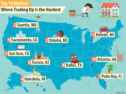 Map Of Palm Bay Florida by Stuck With A Starter Home 10 Places Where Trading Up Is Toughest