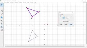 geometer u0027s sketchpad rotations youtube