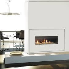 gas fireplace contemporary original design closed milano