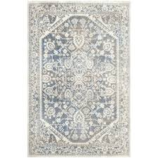 Gray Blue Area Rug Light Blue 10 X 13 New Vintage Rug Area Rugs Esalerugs Solid Light