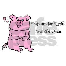 happy birthday cute pink pig greeting cards pk of by blamemyparents