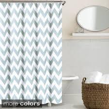 Green Chevron Shower Curtain Shop For Echelon Home Chevron Shower Curtain Free Shipping On
