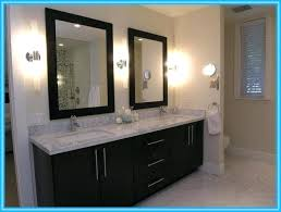 White Framed Bathroom Mirrors White Framed Bathroom Vanity Mirrors Beautiful White Framed