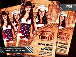 template flyer country free american country countdown event flyer template by pawlowskiart on