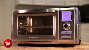 Hamilton Beach Set Forget Toaster Oven With Convection Cooking Cuisinart Cso 300 Combo Steam Convection Oven Review Cnet