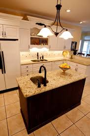 astonishing kitchen island granite insert with oil rubbed bronze