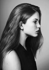hair i woman s chin sideways best 25 side profile woman ideas on pinterest female profile