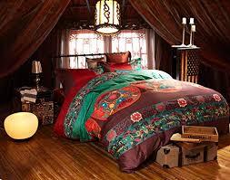 fadfay bohemian egyptian cotton 4 pieces bedding set high grade