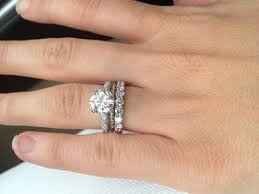 Stacked Wedding Rings by 16 Best Stacked Ring Images On Pinterest Stacked Rings 3 Stone