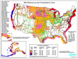 Map Of The 50 United States by Wind Generation Potential In The United States Wikipedia