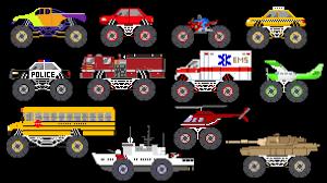 monster vehicles monster truck monster car u0026 more the kids