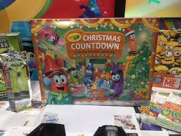 crayola christmas countdown advent calendar new toys from toy