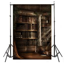 Bookcase Backdrop Freebang 3x5ft Vinyl Retro Book Shel End 8 10 2018 8 15 Am