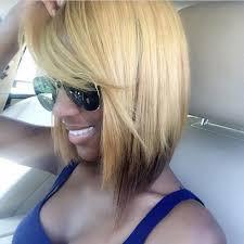 blonde bobbed hair with dark underneath 50 bob hairstyles for black women hairstyles update