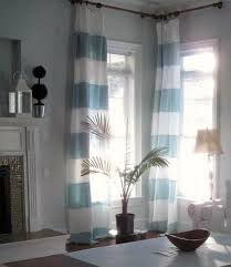 light blue striped curtains striped curtains stripes pinterest striped curtains linen