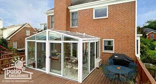 solarium sunroom sunroom with deck ideas pictures