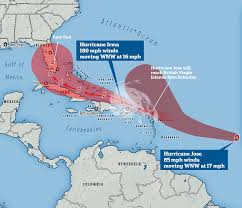 Map Of Southern Caribbean hurricane irma leaves at least 13 dead in the caribbean daily