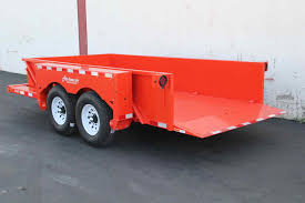 Utility Bed Trailer Desert Haven Trailers Since 1983