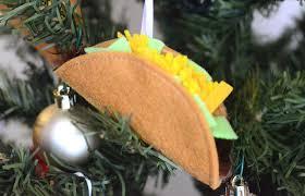 tutorial felt taco ornament sewing
