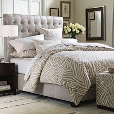 bed head board fairfax tall leather bed headboard williams sonoma