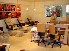 best nail salon interior design nestled amongst the hills of